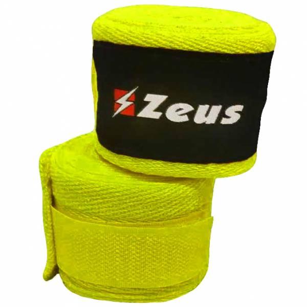 Zeus Boksbandage neon geel