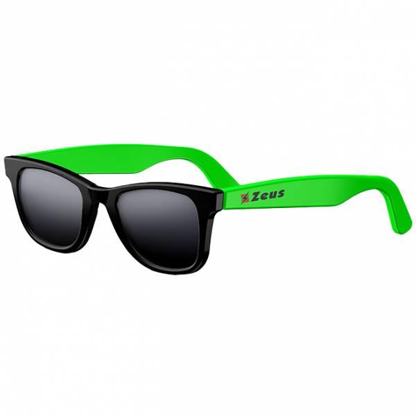 Zeus Sonnenbrille schwarz/neongrün