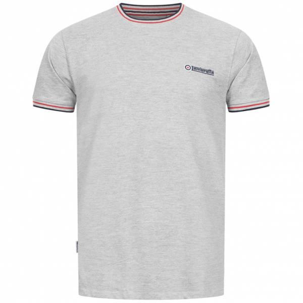 Lambretta Tipped Pique Herren T-Shirt SS4008-GM/N/R