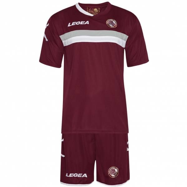 AS Livorno Calcio Legea Herren Kurzam Trikot Set 5677/B