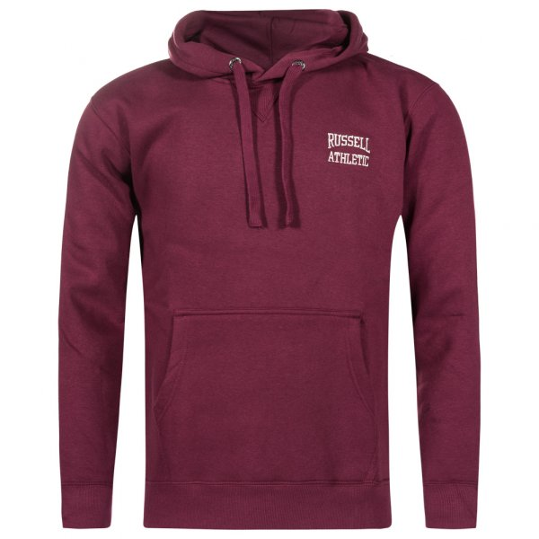 RUSSELL ATHLETIC Herren Hoodie Kapuzen Sweatshirt rot FW16PON037