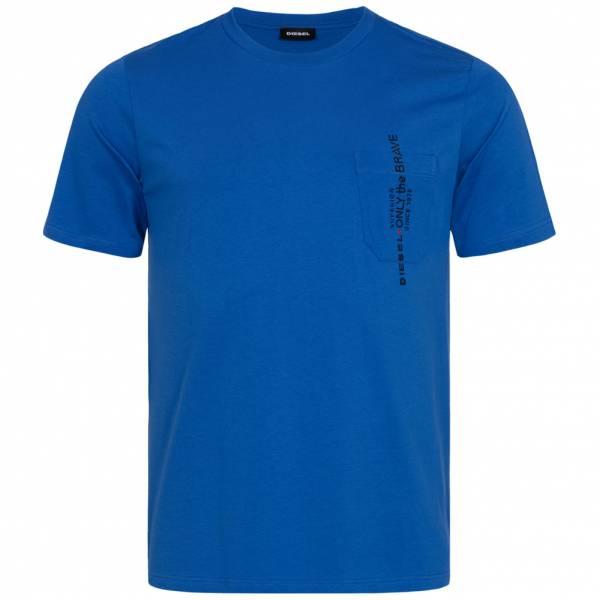 Diesel T-Just-Pocket Hombre Camiseta 00SH13 0BASU 8HY