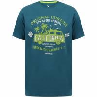 Sth. Shore Custom Van Herren T-Shirt 1C14567 Moroccan Blue