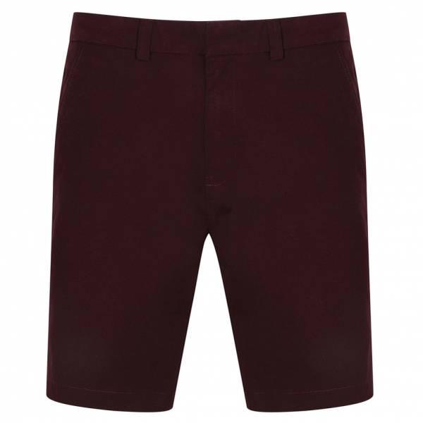 Pantaloncini Chino in cotone Tokyo Laundry Margate da uomo 1G10649 Winetasting