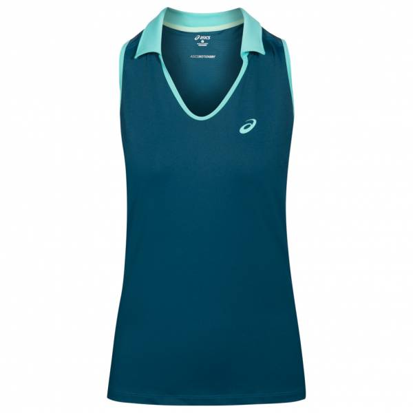 ASICS Sleeveless Polo Damen Tennis Shirt 132409-0053