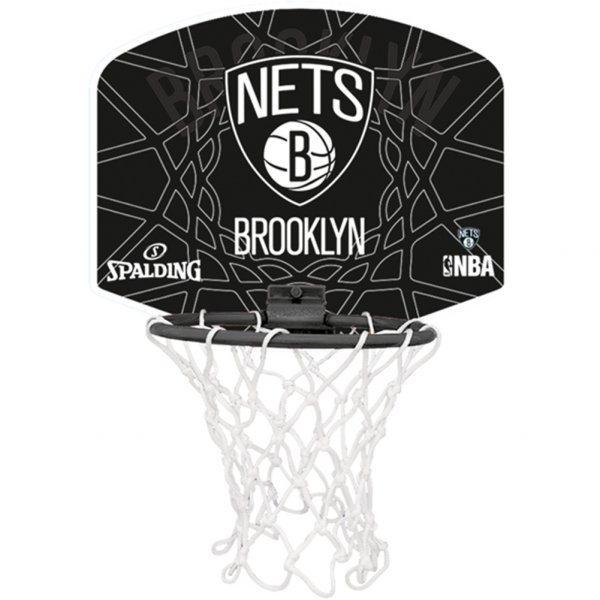 Brooklyn Nets Spalding NBA Miniboard 3001588012317