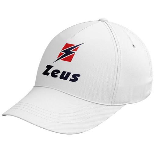 Zeus Promo Logo Cap weiß