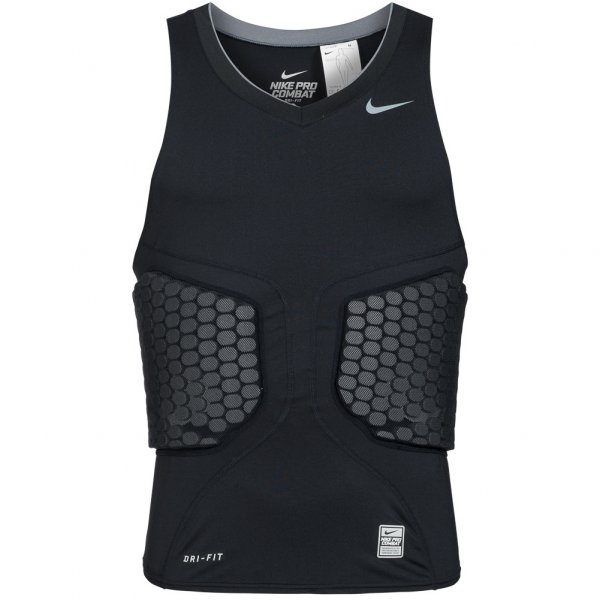 Nike Attack Pro Vent Vis-Deflex Basketball Compression Shirt 371054-010