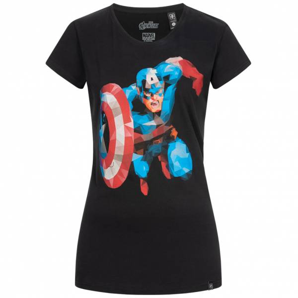 GOZOO x Marvel Captain America Damen T-Shirt GZ-2-AVG-114-F-B-1