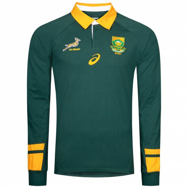 South Africa Springboks Asics Jersey Mens Home Rugby Shirt 126323sr