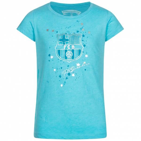 FC Barcelona Mädchen T-Shirt Türkis FCB1CWE2P