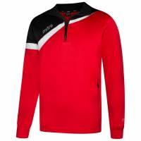 MITRE Polarize 1/4 Zip Herren Trainings Sweatshirt T60011-SBW