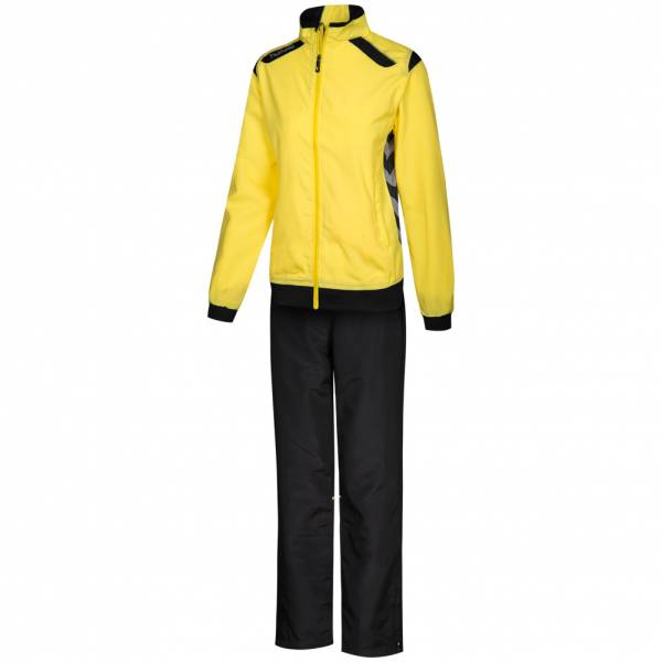 Damen hummel  Stockholm Taslan Suit Damen Trainingsanzug 101600-4800 gelb | 08718193107032