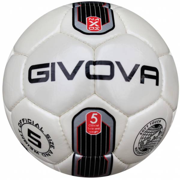 "Givova Football ""Naxos"" black / silver"