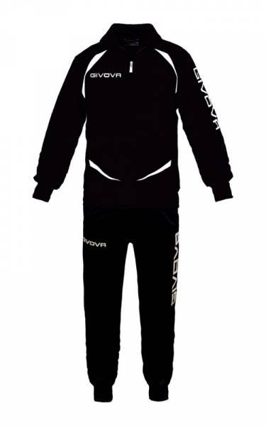 Givova Tuta Training Gold Trainingsanzug schwarz/weiß