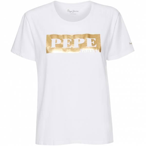 Pepe Jeans Logo Damen T-Shirt PL504181-800