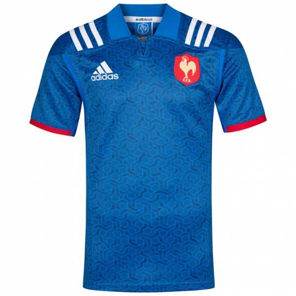 Francia adidas Hombre Camiseta de rugby de primera equipación BR3359