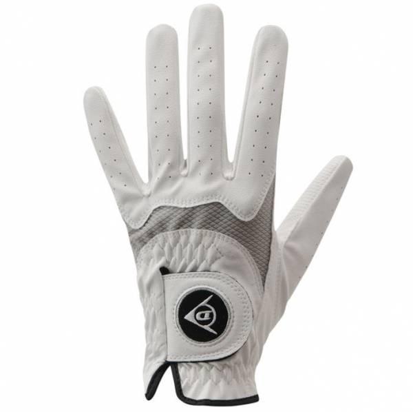 Dunlop Damen Allwetter Golfhandschuh linke Hand für Rechtshänderinnen weiß