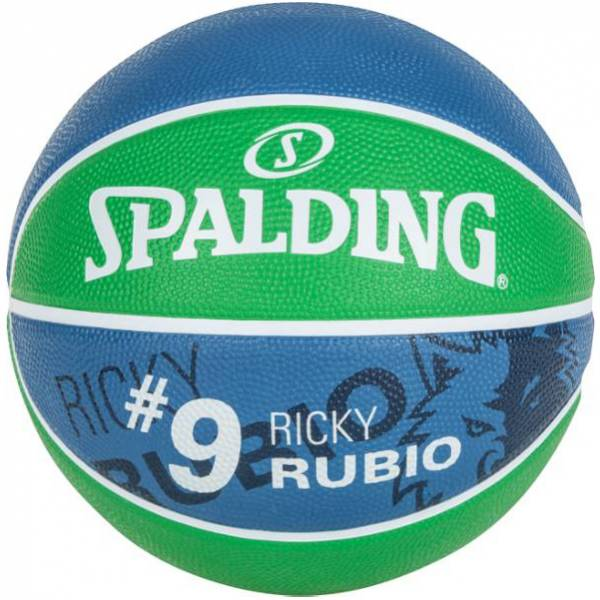 Minnesota Timberwolves Spalding NBA Ricky Rubio Pallone da basket per tifosi 3001586010515