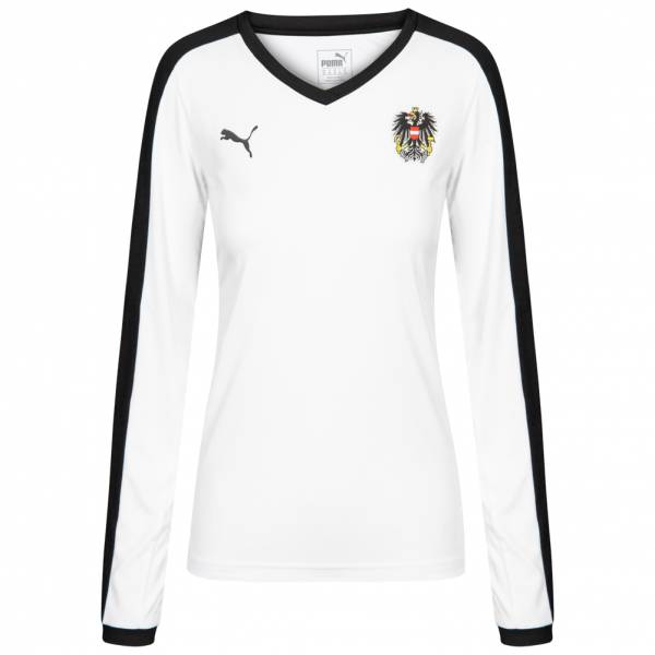 Austria PUMA Women's Away Long Sleeve Jersey 750178-02