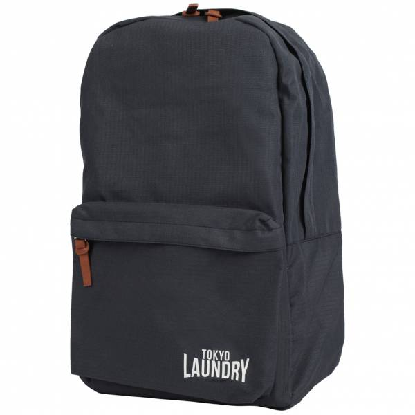 Tokyo Laundry Cross Avenue Canvas Backpack 1W11135 Navy