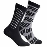 PUMA All Over Logo 2 Paar Socken 291001001-200