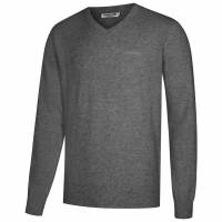 Lambretta Lambswool Sweater Herren Lammwolle Sweatshirt RWIK0045-FRENCH GREY