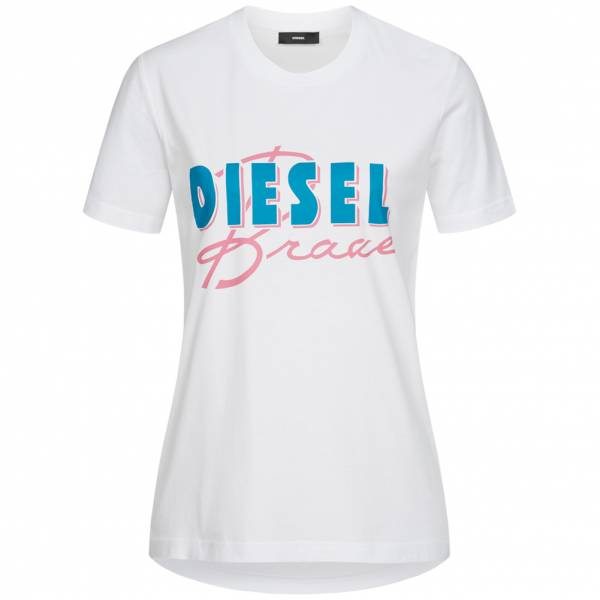 Diesel T-Sily-C2 Donna T-shirt 00SYGW 0LAKY 100