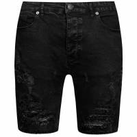 BRAVE SOUL Morton Denim Herren Ripped Jeans Shorts MSRT-MORTON