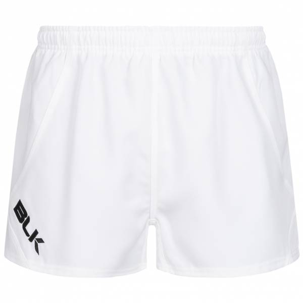 BLK Tek Uomo Pantaloncini da rugby BKSH308WHT