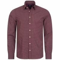 Hackett London Paisley Flower Print Hombre Camisa casual HM306711-281