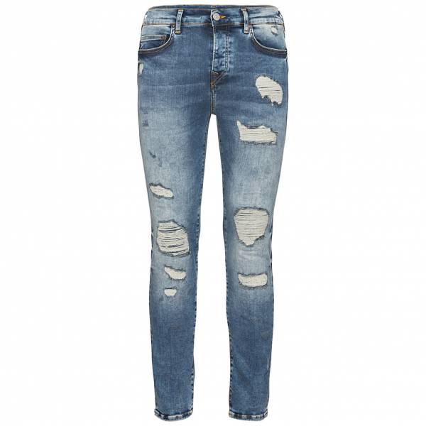 True Religion Rocco Relaxed Skinny Herren Jeans M18SD84G9G-4300