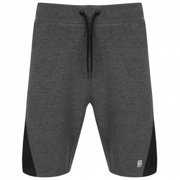 e5e3028e9 Tokyo Laundry Lewis Mesh Panel Men s Joggers Shorts 1G10783 Black ...