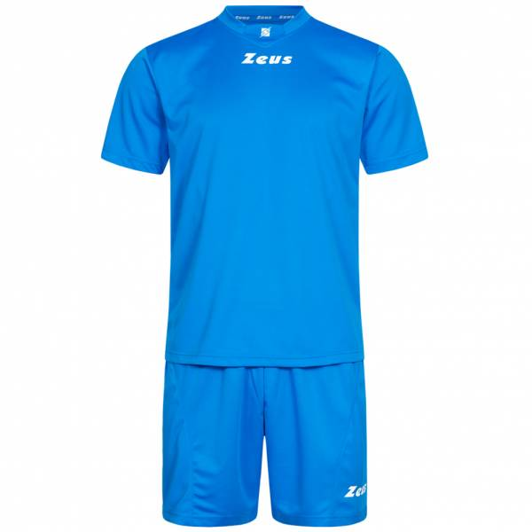 Zeus Kit Promo Zestaw piłkarski 2-częściowy niebieski
