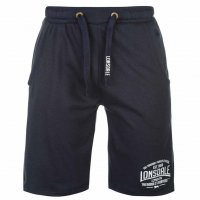Lonsdale Herren Sweat Shorts 632244 Navy