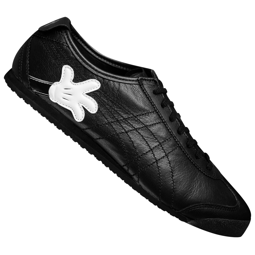onitsuka tiger mexico 66 slip on black and white leather reserve