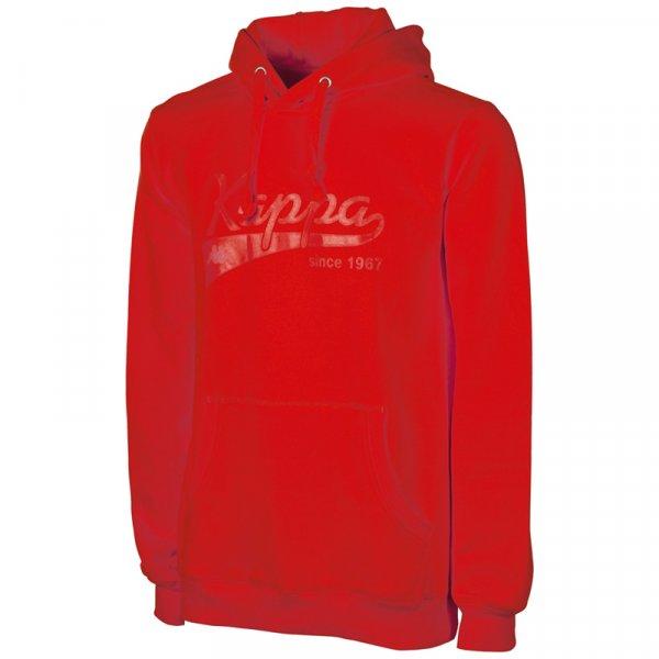Kappa Hooded Sweatshirt Narkotio Herren Hoodie 302814-530 Racing Red