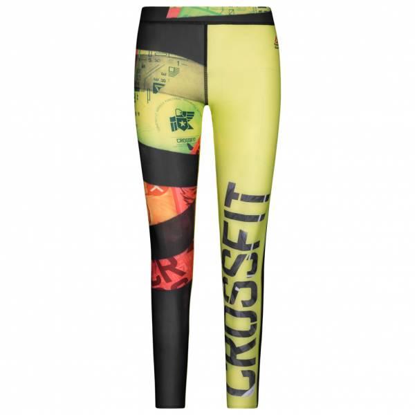 Reebok Damen CrossFit Compression Tights AOP Leggings AP9189