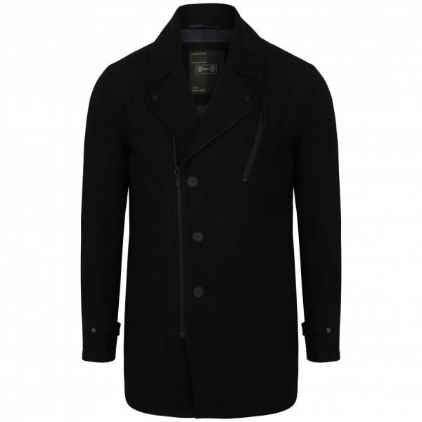 DNM Dissident Hurbanova Biker Style Wool Rich Coat Herren Jacke 1J9682