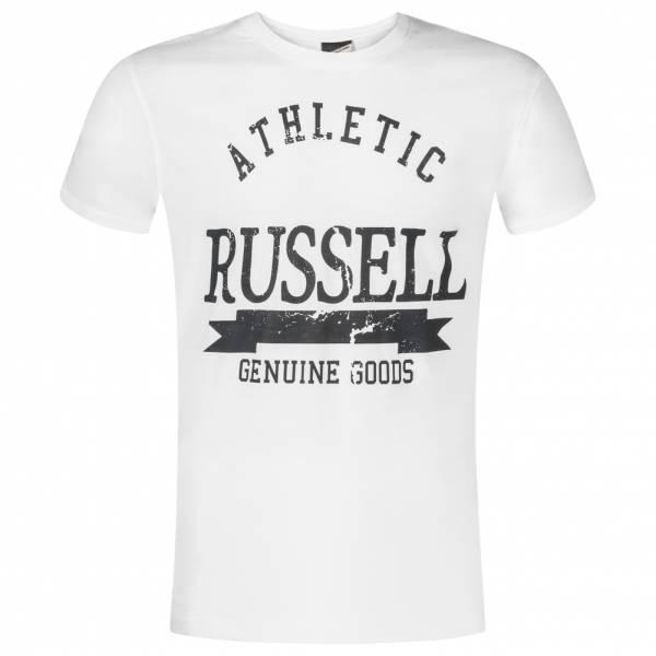 RUSSELL ATHLETIC Herren T-Shirt Genuine Goods weiß FW16PON005