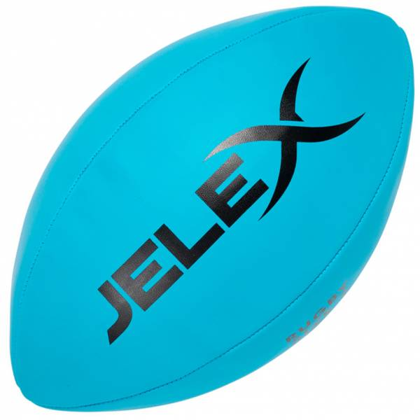 JELEX Ambition Rugby Ball blau
