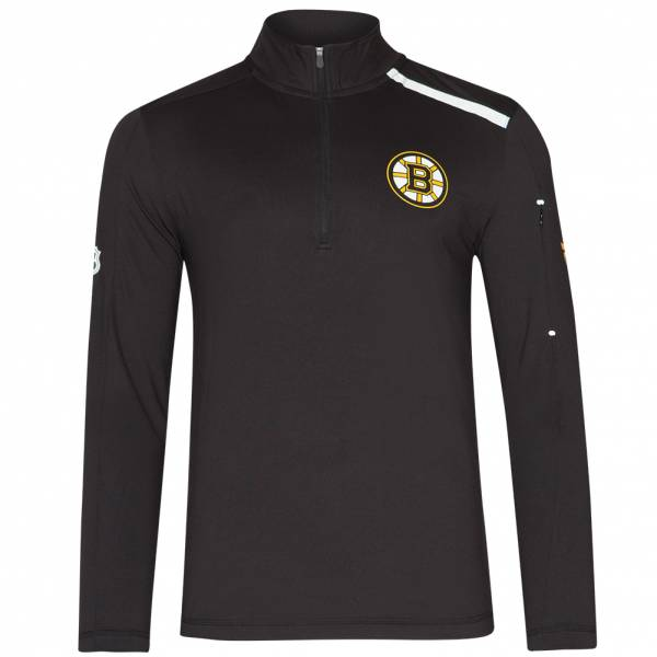 Boston Bruins Fanatics 1/4-Zip Herren Trainings Sweatshirt MA27127A2GC45U