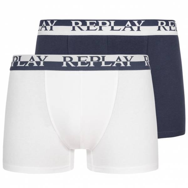REPLAY Boxer Herren Boxershorts 2er-Pack 101141-N142
