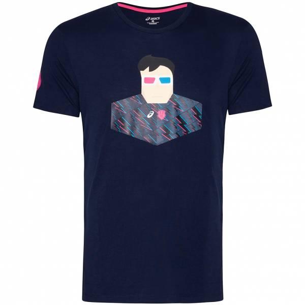 Stade Francais ASICS Herren Rugby Fan T-Shirt 146544SF-8124