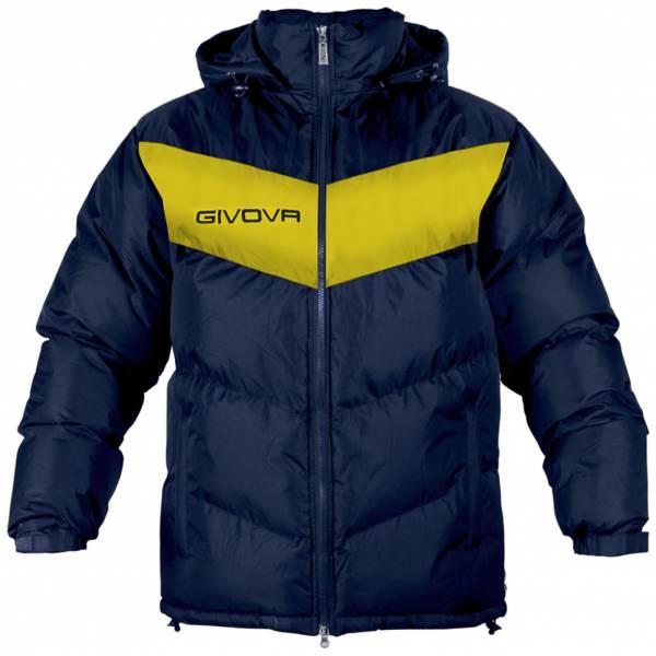 Givova Kurtka zimowa Giubbotto Podio granatowo-żółty