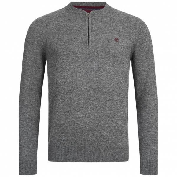 Timberland Jones Brook Merino Herren 1/2-Zip Sweatshirt A1QDK-010