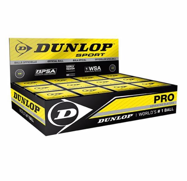Dunlop PRO Squash Bälle 12er Box