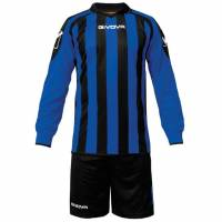 Givova Kit Rumor Fußball Set Langarm Trikot + Short KITC25-1002