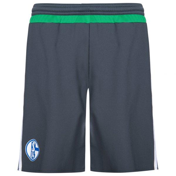 FC Schalke 04 adidas Herren 3rd Spieler Shorts Player Issue AA2448