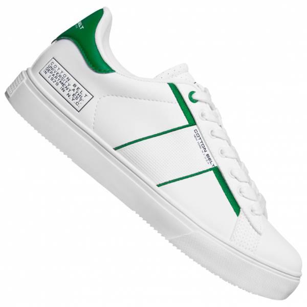 COTTON BELT White Green Herren Sneaker CBM01400105